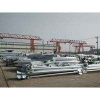 Power Transmission Line tubular steel pole