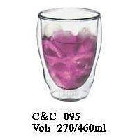 Handmade Cheap Price Glass Cup for Juice / Wine / Ice Cream 400ml thumbnail image