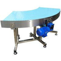 Curved conveyor