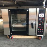 Commercial Electric Convection Oven 5 Trays Stainless Steel Bakery Oven FMX-O225A
