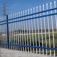 Zinc steel fence | Picket fence ---- WM Wire Industrial thumbnail image