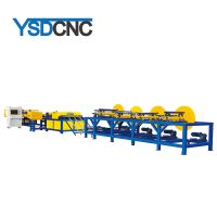 duct make machine line 4 with taiwan hiwin linear guideways