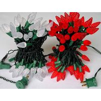 strawberry led string light(holidays lights,christmas lights,decoration lighting) thumbnail image