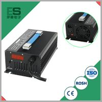 60V10A E-Car Lead acid Battery Charger with US plug