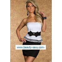 Peplum Dress K-9025A