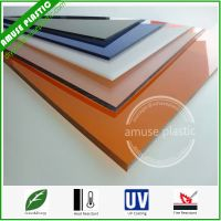 Good Anti-Aging Building Plastic Polycarbonate (PC) Sunlight Solid Sheet Board thumbnail image
