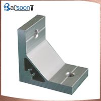 Custom aluminum profile for furniture with machining
