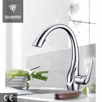 Spring Loaded Kitchen Sink Mixer Tap Faucets Pull Out Kitchen Faucet
