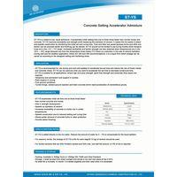 ST-YS Setting Acceleretor Admixture Liquid