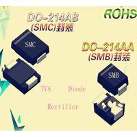 Original 1500W 6.5V TVS Chip Diode SMCJ6.5A/CA DO-214AB Free Samples