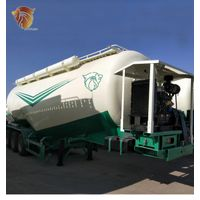 50t Tank Powder Cement TransportS ilos Semi Trailer For Sale For Transportation Of Cement