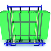 Warehouse China Factory a Frame Cart Used Steel Transport Rack