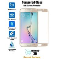 Newest 3D curved tempered glass screen protector for samsung s6 edge