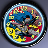 12 inch color neon light wall clock,decorative neon wall clock thumbnail image
