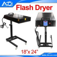 18x24' Screen Printing FLASH Dryer 3000 Watt Silkscreen