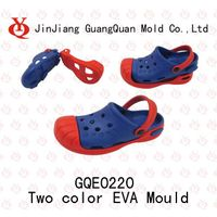 Double colourEVA garden shoes mould GQE0220
