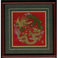 china Dragon and phoenix represent auspicious