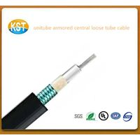 Unitube Armored cable cheap high quality flexible cable/Central Loose Tube Outdoor Cable