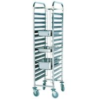 201 stainless stell cake cart