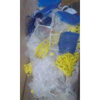 Silicone rubber scraps