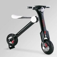 Sipole F1 Two wheel Balancing Electric Scooter with 35KM Travel Distance rear damping dynamic displa