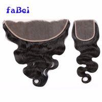 human hair closure,virgin brazilian natural hair closure piece,blonde virgin hair 3 bundles with 5x5 thumbnail image