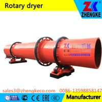 Sawdust/wood chip/bagasse/Sugar Cane Fiber/biomass rotary dryer
