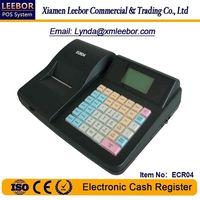 Electronic Cash Register, Supermarket POS Terminal Cashier Equipment, Receipt/ Bill Printing ECR04 thumbnail image