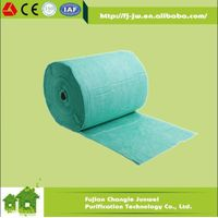 670mm*80m per roll, pocket filter media in bag air filters with nonwoven fabric