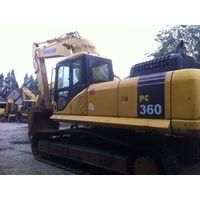 36ton excavator komatsu excavator pc360-7 thumbnail image