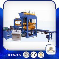 QT5-15 brick making machine brick machinery thumbnail image