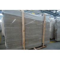 Wooden Coffee Marble Slabs & Tiles, China Grey Marble
