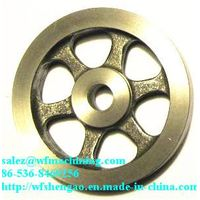 Customized Grey Iron Sand Casting Flywheel for Exercise Bike