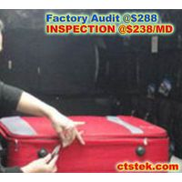 bag/backpack/luggage/pouch/baggage pre shipment final factory QC check inspection service thumbnail image