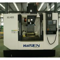 CHINA HAISEN MLH855 CE Approved high precision 3 Axis Vertical CNC Milling Machine Center thumbnail image