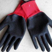 Morewin Custom Anti-oil Water Proof Work Nylon Garden Safety Gloves thumbnail image
