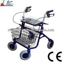 RW002 CE Foldable Stell rolling walker rollator