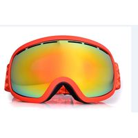 Frame orange strap REVO gold coting lens snow gogles