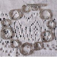 Sterling Silver Jewelry 925 Silver Link Bracelet (B-075) thumbnail image