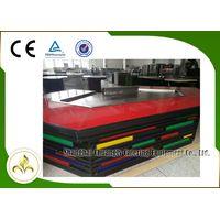 11 Seats Stainless Steel Electromagnetic Heating Bridge Shape Teppanyaki Grill Table
