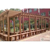 Landscape Contruction WPC Pergola