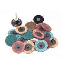 2-Inch Maroon Quick Change Disc,Non woven Rolco Bristle Disc Manufacturer,quick change abrasive disc