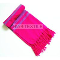 promotion beach towel -100% cotton woven  beach towel