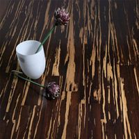 BY Indoor Usage tiger stripe strand woven bamboo flooring