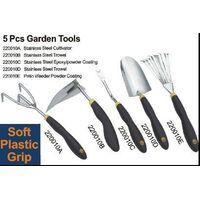 5 PC Stainless steel Garden Tool Set thumbnail image
