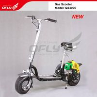 2012 NEW 49CC Foldable Gas Scooter with Improved Features