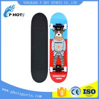 Hot selling skateboard 31 inch skateboard 7 layer Canadian Maple concave skate board longboard skate thumbnail image