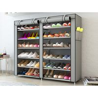kaidi non-woven shoe rack
