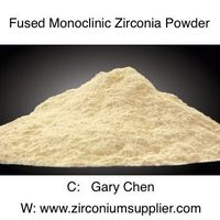 Fused Monoclinic Zirconia Powder for Refractory