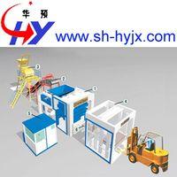 Block making machine production line